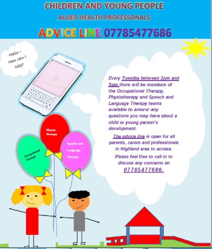 advice line